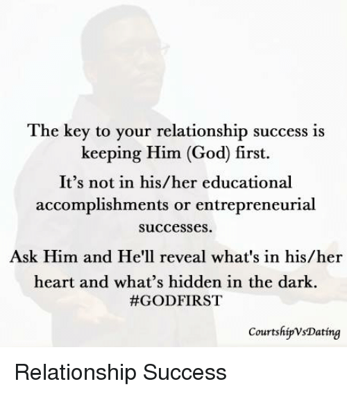 Keys to keeping a great relationship