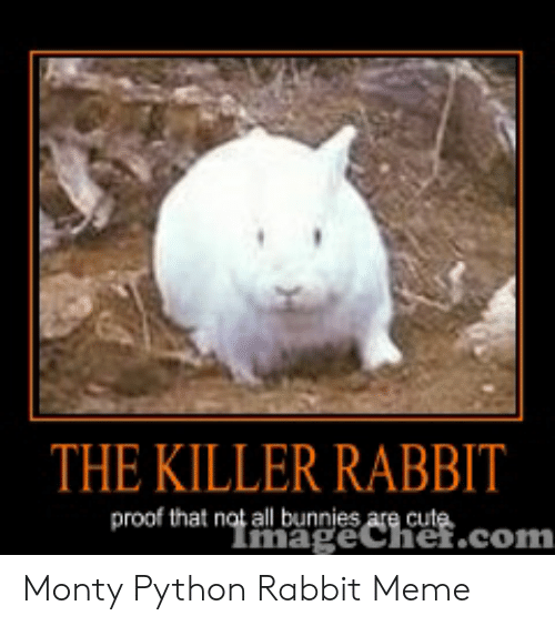 The KILLER RABBIT Proof That Not All Bunnies Are Cut Monty