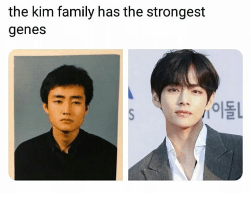 Family, Kim, and The: the kim family has the strongest  genes  /이돌L