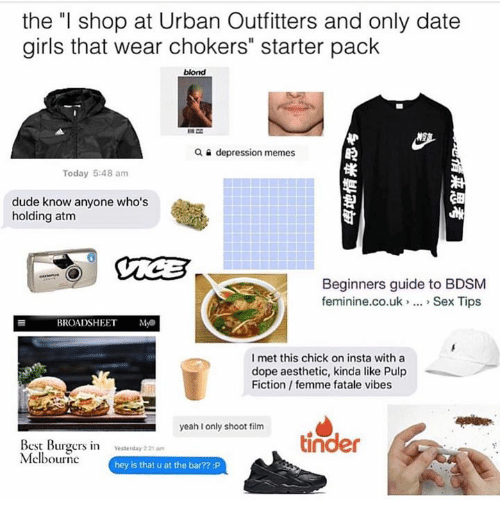 The L Shop At Urban Outfitters And Only Date Girls That Wear Chokers