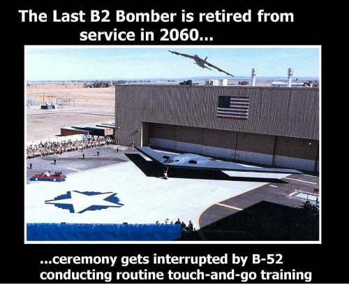 The Last B2 Bomber Is Retired From Service in 2060 ...