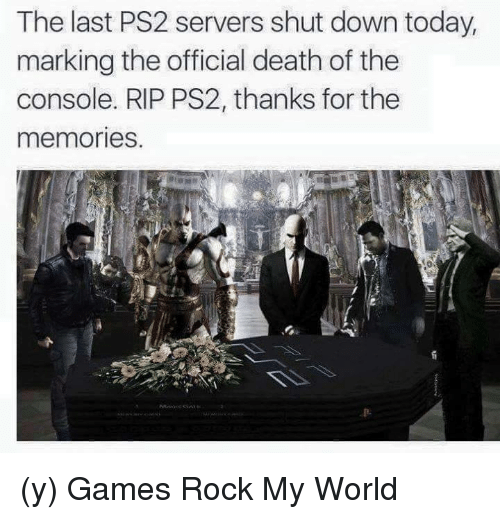 The Last PS2 Servers Shut Down Today Marking the Official Death of
