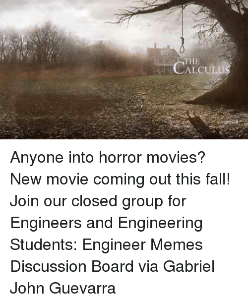 The LCALCULU Anyone Into Horror Movies? New Movie Coming Out This