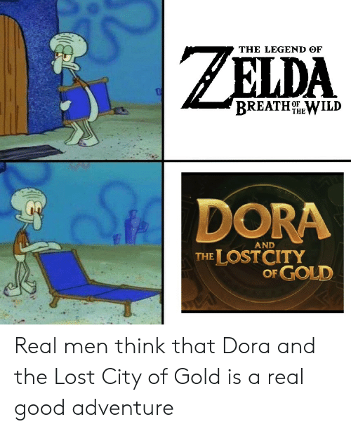The LEGEND OF BREATHHEWILD DORA AND THE LOSTCITY OF GOLD