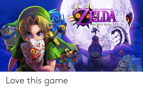 Love, Game, and Mask: THE LEGEND OF  MAJORA'S MASK SD2 Love this game