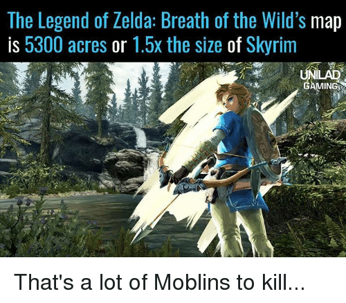 Memes Skyrim And Maps The Legend Of Zelda Breath Wilds
