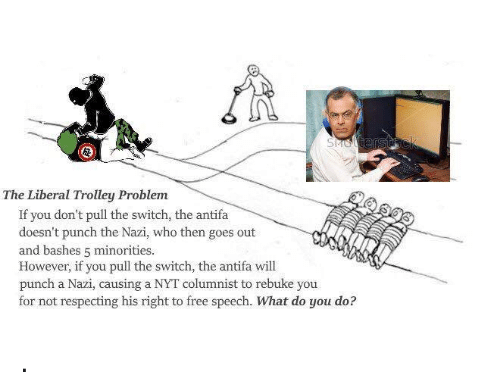 "trolley problem This haunting choice is a variation of the ""trolley problem,"" an iconic philosophical thought experiment (if you've never heard of it before, try this."