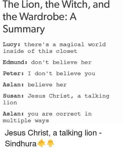 essay on the lion the witch and the wardrobe The lion, the witch, and the wardrobe essays: over 180,000 the lion, the witch, and the wardrobe essays, the lion, the witch, and the wardrobe term papers, the lion.