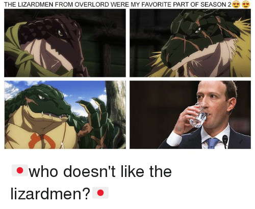 The LIZARDMEN FROM OVERLORD WERE MY FAVORITE PART OF SEASON 2
