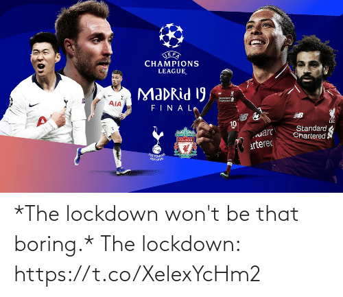 Memes, 🤖, and Lockdown: *The lockdown won't be that boring.*  The lockdown: https://t.co/XelexYcHm2
