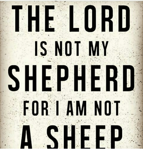 The Lord's My Shepherd (23rd Psalm)