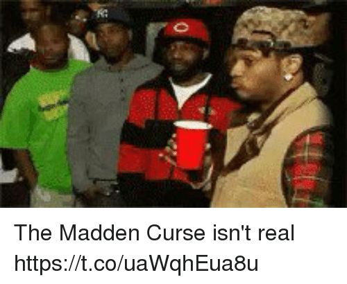 Memes, 🤖, and Madden: The Madden Curse isn't real https://t.co/uaWqhEua8u