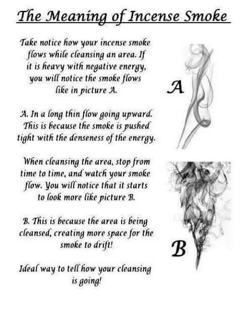 The Meaning of Incense Smoke Take Notice How Your Incense