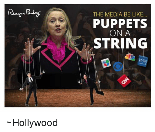 The Media Be Like Puppets On A String Hollywood Meme On Me Me