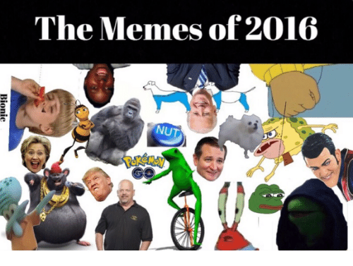 Dank Memes, Nuts, and Nut: The Memes of 2016  NUT