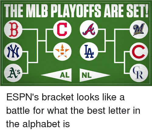The MLB PLAYOFFS ARE SET as 'S 1R | Funny Meme on ME ME