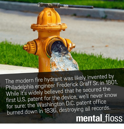 The Modern Fire Hydrant Was Likely Invented By