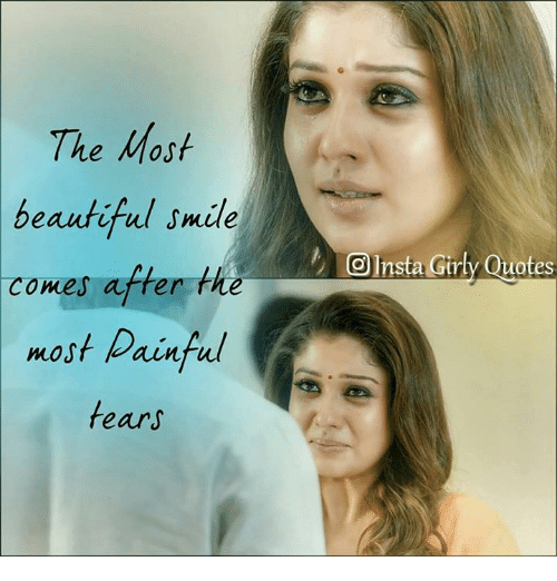 The Most Beautiful Smile Comes After the Most Painful Fears a