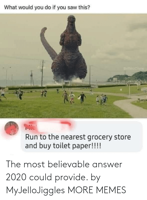 Dank, Memes, and Target: The most believable answer 2020 could provide. by MyJelloJiggles MORE MEMES