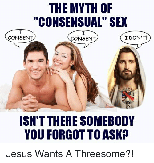 The myth of the threesome