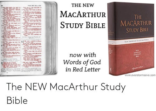 Beard, God, and Hoe: THE NEW  PSALMS 2  hoe be ade the land  CHle thou at eat i  Hl e eals hre  shaketh.  AT showed ar le  wthines  thehat made a drk de  Lad me tethe k oat is  ter than  Tor ho at beem a ren  MACARTHUR  er from the  Asinn  THE  MACARTHUR  STUDY BIBLE  1wke refue la e ert  4Tou hast si  la  Pe tho, 0 Gol, hast beard  That r b dlaret be  1 at the beined ar  Sve wh thr riht hand, and  Th haiven n e herl  A of tho at the  STUDY BIBLE  Thwne  ng'te:  de God for  le hal ald  1 ride Sehn. and  eout e alle S  os inkiad d  ndthal der me s  Sin  So w sin rni te dhe  न  অ  Tbel-m ale ie the defence  lwid ia slece  ग  hution  NEW AMEICAN STANDARD BIBLE  :'diet  God. l  yation  pot be erearl me  Hw awe et voon  gen.  -Thal e m lar iw, all of  Jad the ot set forth. a  Now  AMICAN  STANDARD  Pr ain a dhe ele of an  1we  now with  Words of God  in Red Letter  La legnine wall, hetot  Ther ty enthret hi  Ther delish in  Trhla hat will tad de  adveraries  4  Sertmn Sfs re  her  Mese with thrir porh.  et ther cte lewny  in lece  Mr seol. w  Aeed sato  e er  cal als dee, whee  Seart te arwbelmed:  www.everstormseve.com The NEW MacArthur Study Bible