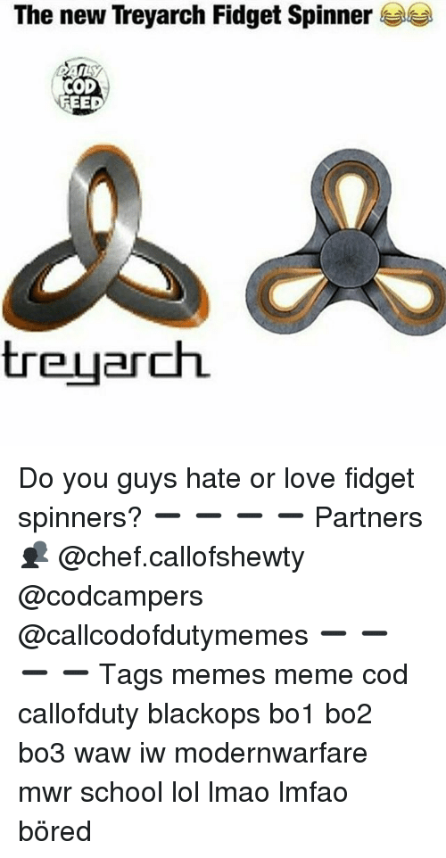The New Treyarch Fid Spinner FEED Treuarch Do You Guys Hate or