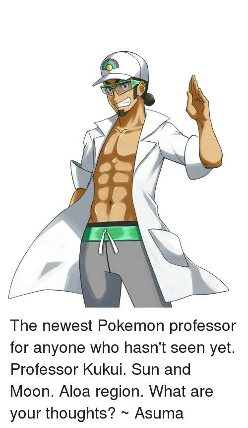 the newest professor for anyone who hasn t seen