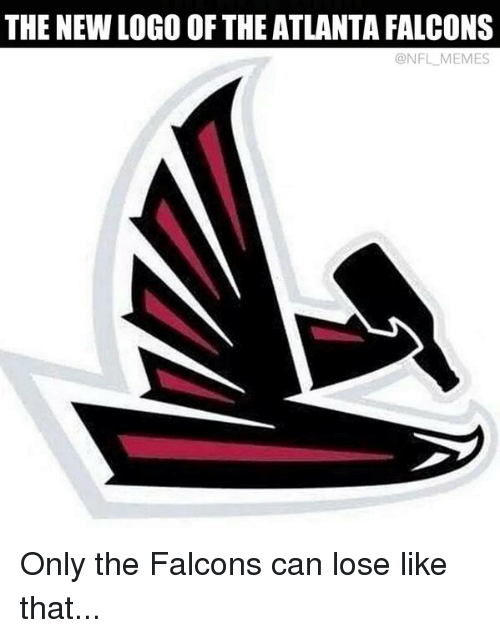 The Newlogo Of The Atlanta Falcons Onflmemes Only The Falcons Can