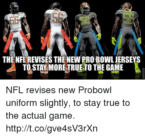 separation shoes 1f6eb da3eb The NFL REVISES THE NEW PRO BOWL JERSEYS TOSTAY MORE ...