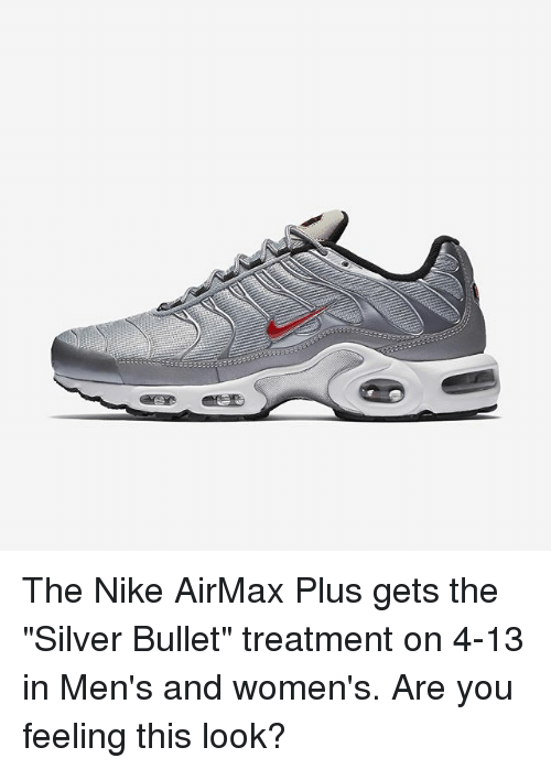 Memes, Nike, and Silver: The Nike AirMax Plus gets the