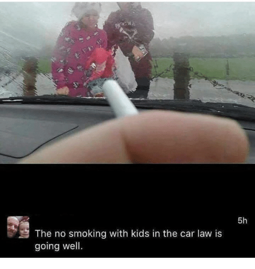 No Smoking In Car With Child Law >> The No Smoking With Kids In The Car Law Is Going Well 5h