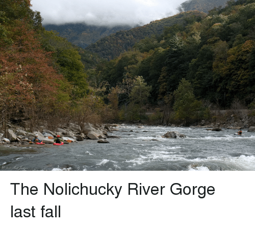Fall, River, and Gorge