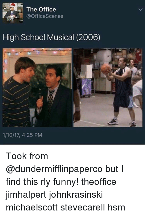 The Office Scenes High School Musical 2006 11017 425 Pm Took From