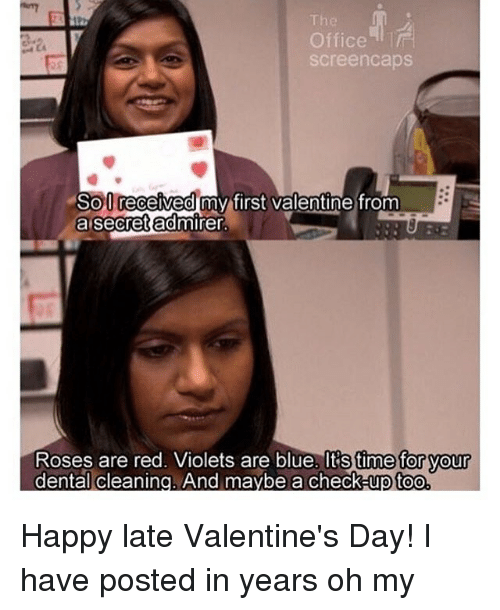 Memes, Office, And 🤖: The Office Screencaps So0 Received My First Valentine  From