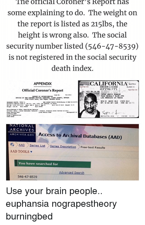 What is the Social Security Death Index?