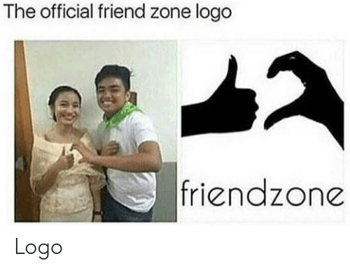 Friendzone, Logo, and Friend: The official friend zone logo  friendzone Logo