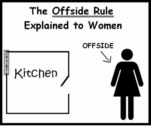 Kitchen Offside Rule