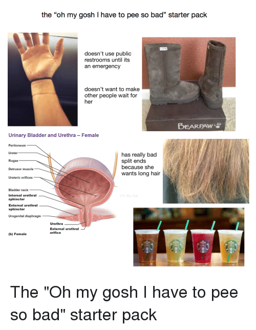 Bad, Starter Packs, and Hair: the