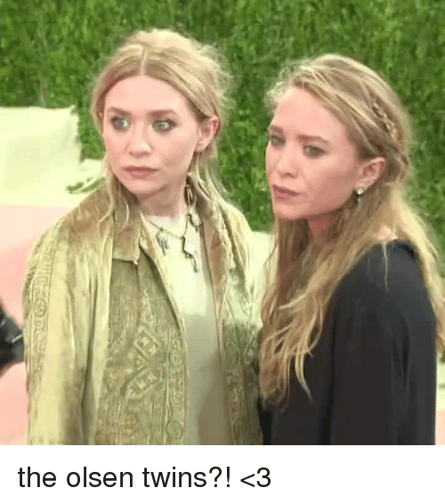 the olsen twins %3C3 5607916 ✅ 25 best memes about twins twins memes,Mcclure Twins Meme