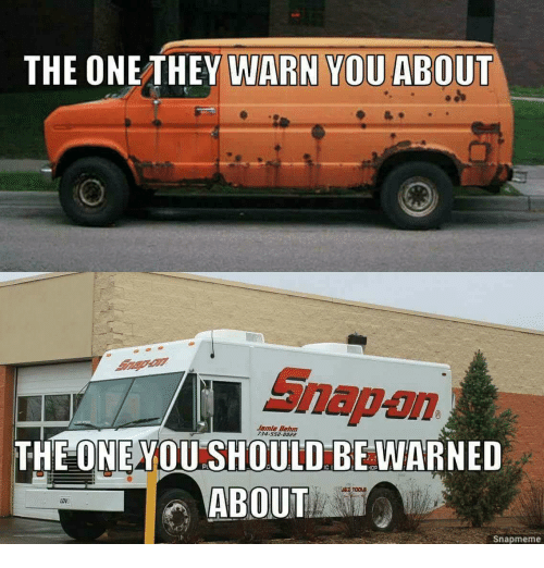The ONETHEY WARN YOU ABOUT Snap-On Jamle Behm 734-5528822