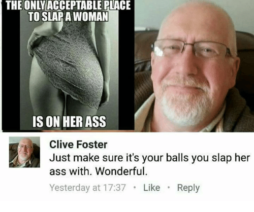 Balls slapping together