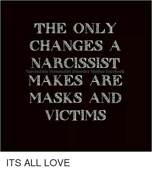 Victim of narcissistic personality disorder