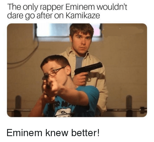 School Shooting Rap: The Only Rapper Eminem Wouldn't Dare Go After On Kamikaze