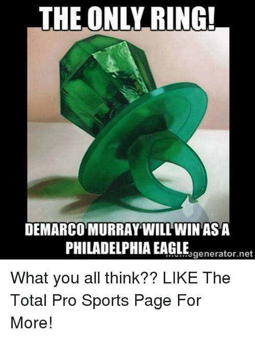The ONLY RING! DEMARCO MURRAY WILL WIN ASA PHILADELPHIA EAGLE What ...