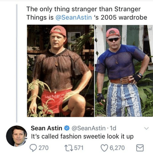 Sean Astin It S Called Fashion Sweetie Look It Up Scene