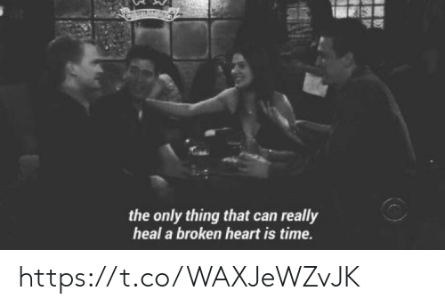 The Only Thing That Can Really Heal a Broken Heart Is Time