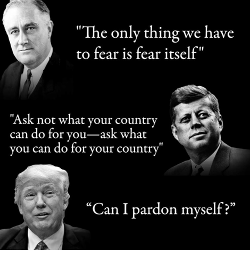 "the only thing we have to fear is fear itself Many of you have heard the quote, ""there is nothing to fear but fear itself,"" by  franklin roosevelt, which is a variation of ""the only thing we."