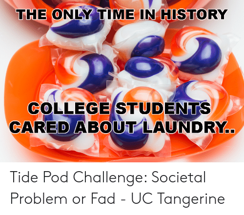 The ONLY TIME IN HISTORY COLLEGE STUDENTS CAREDABOUT LAUNDRY