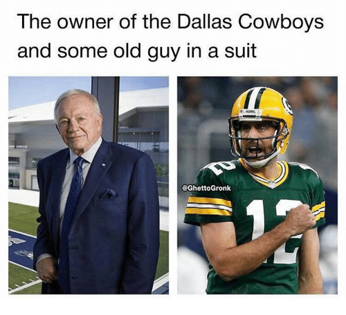 The owner of the dallas cowboys and some old guy in a suit dallas dallas cowboys nfl and dallas cowboys the owner of the dallas cowboys and publicscrutiny Images