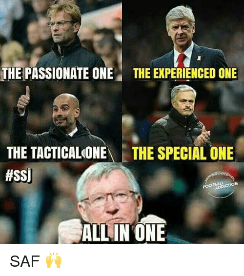 Memes, 🤖, and Ssi: THE PASSIONATE ONE THE EXPERIENCED ONE  THE TACTICALONE  THE SPECIAL ONE  #SSI  ON  ALL IN ONE SAF 🙌